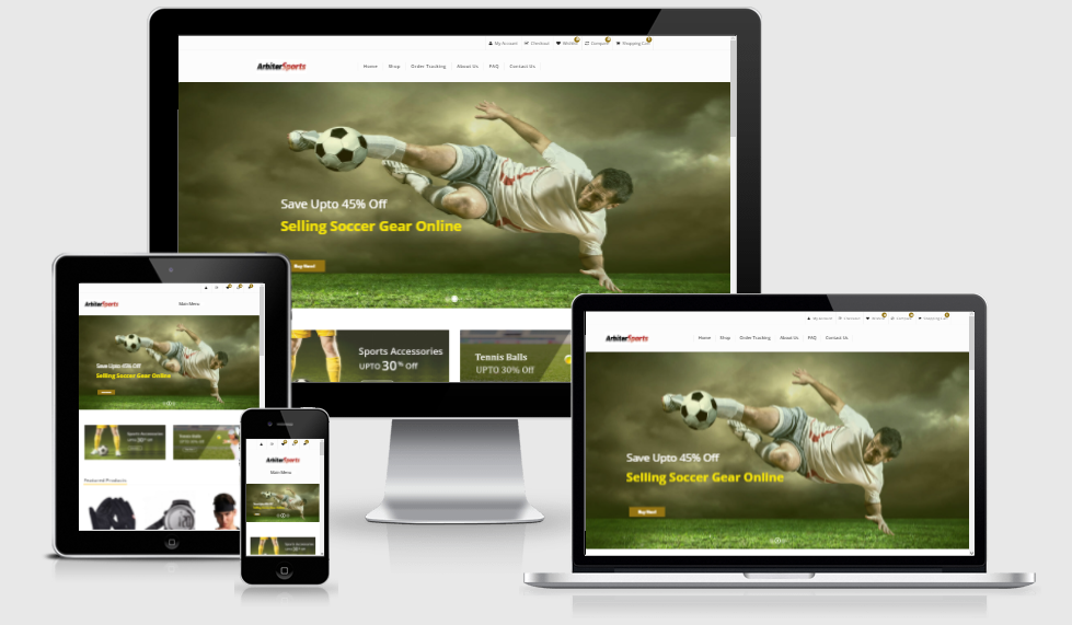 Established Sports eCommerce STORE 200 Profitiable Website Business - Dropship