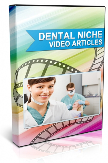 Get These 10 Dental PLR Video Articles with Unrestricted PLR