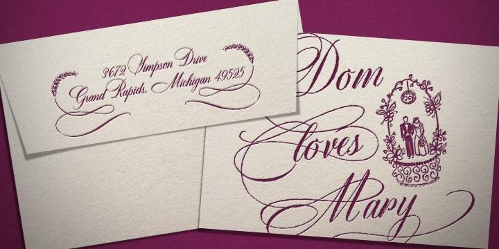 Creat 2 beautiful font for wedding card design invitation card – Beautiful Fonts for Wedding Invitations