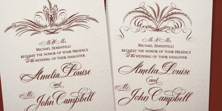 Creat 2 Beautiful Font For Wedding Card Design Invitation