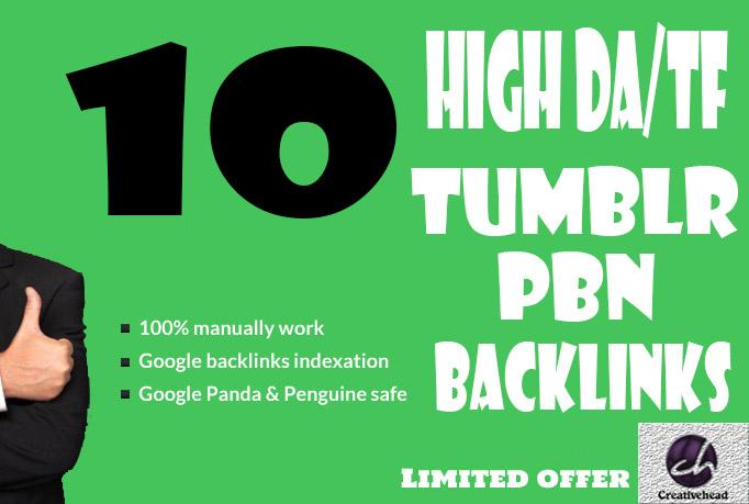 10+ Tumblr Pbn Blog Post Links DA 99 and PA 28+