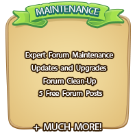 Expert Forum Maintenance