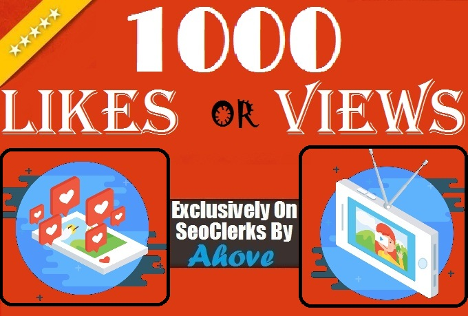 Get Instant 1000 Likes Or 10,000 Views