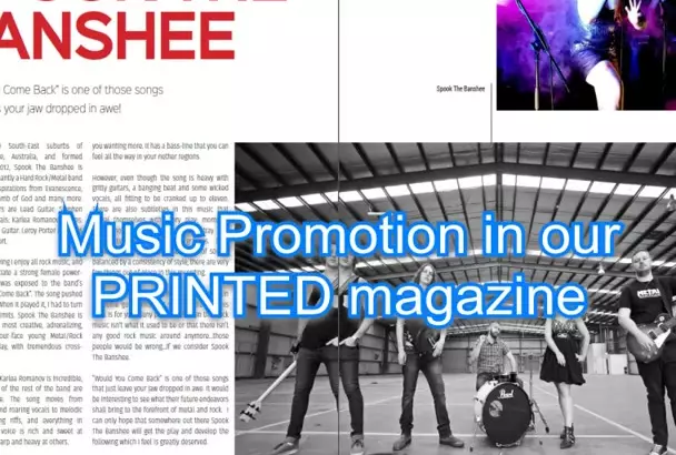 Publish And Promote Your Music Online, In Print And On Radio