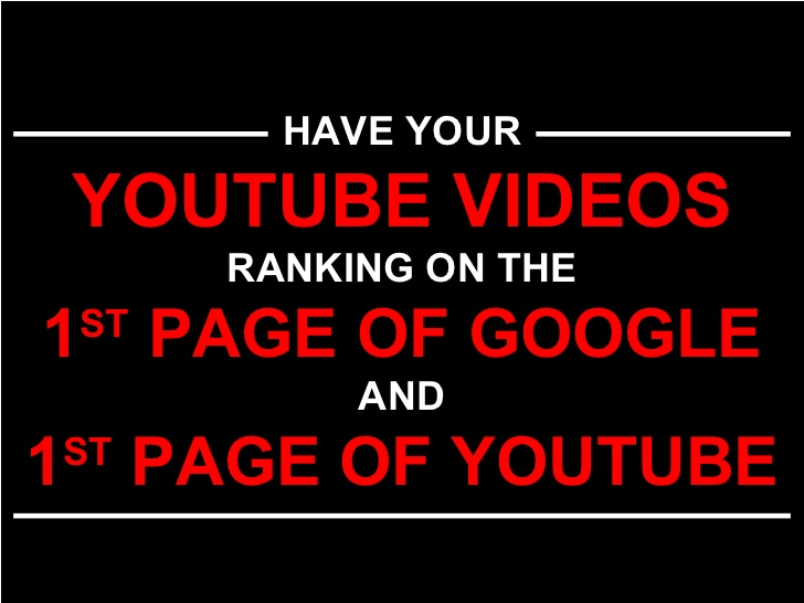 Boost Your Video to Google TOP 1-3