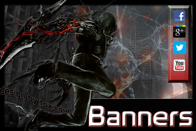I will design any kind of banner for any site in just 1 day