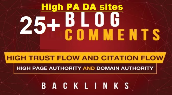 20,000+ PBN Blog Comment dofollow Backlinks