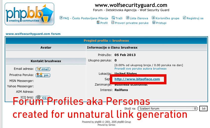 Make 30 High PR forum profile with anchor text