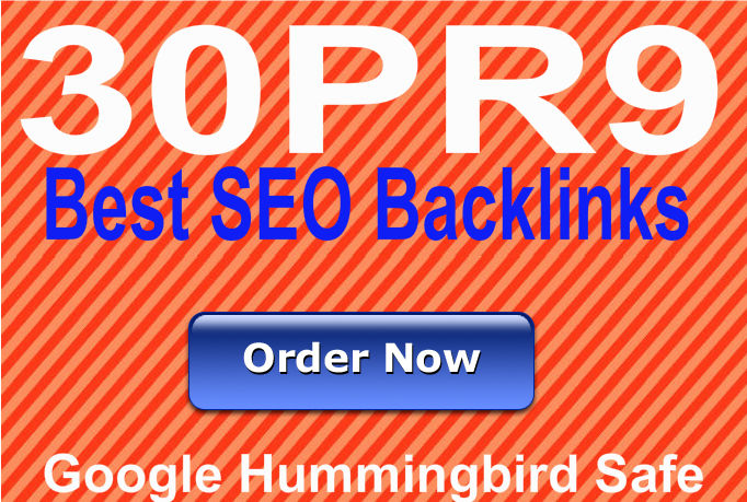Provide 30 High Authority SEO backlinks using Edu,  Gov and PR9 domains