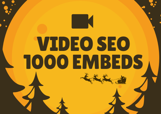 1000 Video Embeds Organic Promotion that will bring organic views and likes - Video SEO and Ranking