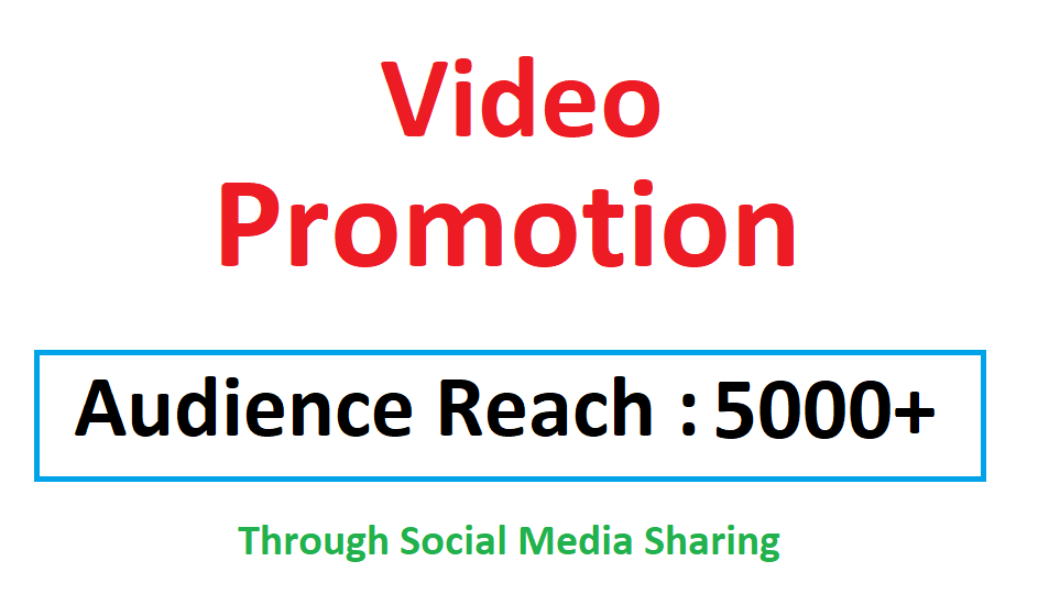 Video Viral Marketing Promotion 5k