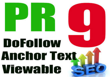 I will create PR9 Panda,Penguin and Hummingbird safe backlinks from 10 AUTHORITY Sites