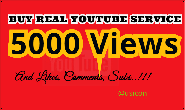 Get 5000 Y0uTube Views, 500 Likes, 20 C0mments and 100 Subscribers for $20