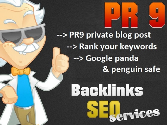 i will Place a contextual Backlink for SEO on my PR9 blog