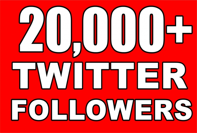 Get Instant 20000+ Permanent Twitter Followers Within 24 Hours Limited Time Offer For New Year 2017