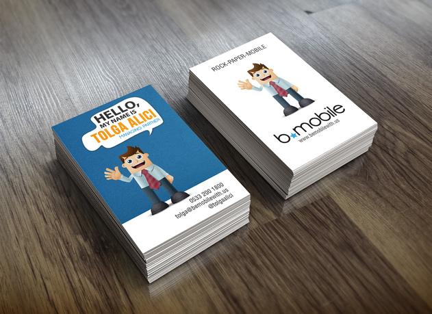 Character Design Business Card : I will design a character business card for seoclerks