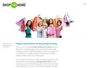 Shopping Niche I Will Write Review And Publish On My Blog