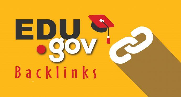 20 .EDU - .GOV Backlinks From Authority Domains