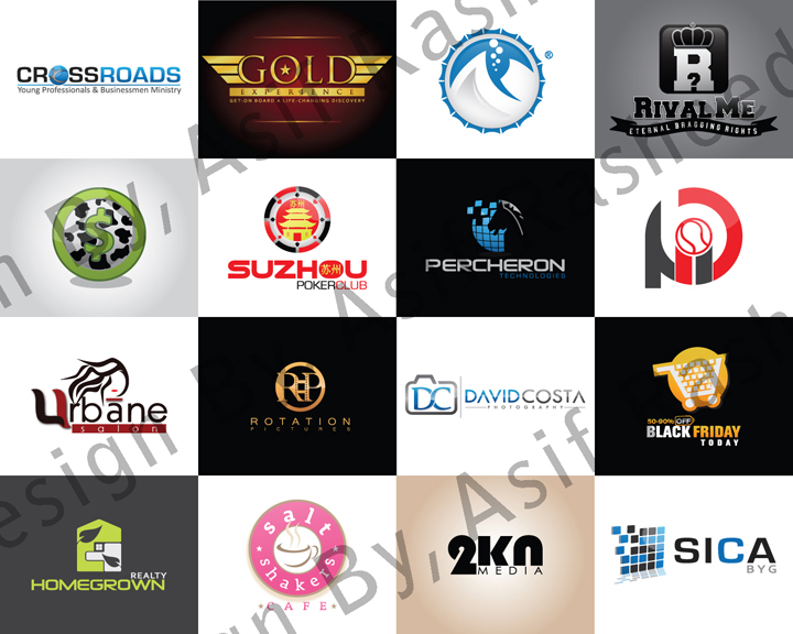 Design 3 Concepts Unique EyeCatching Vector Businees Logo for Website & Product for