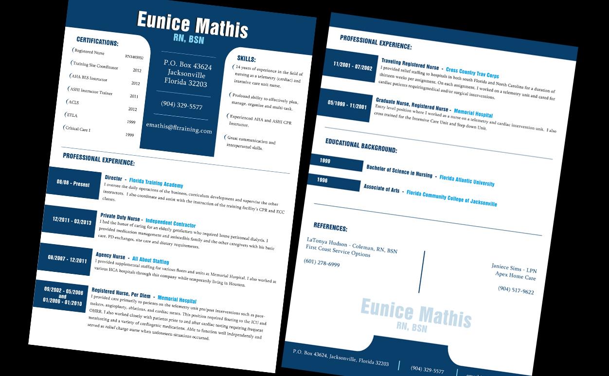 I'll Design Eye candy CU/Resume for