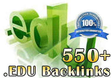 Create Manually 550+ EDU Backlinks to your Site for SEO and SERP