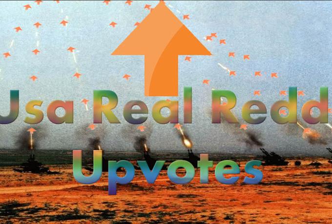 provide 35+  Real USA reddit upvotes