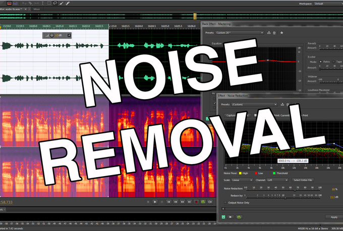 Reduce or remove noise from any audio