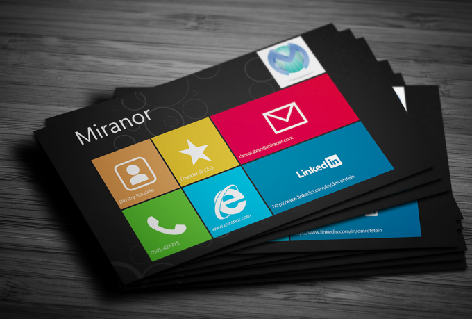 Windows Business Card Images