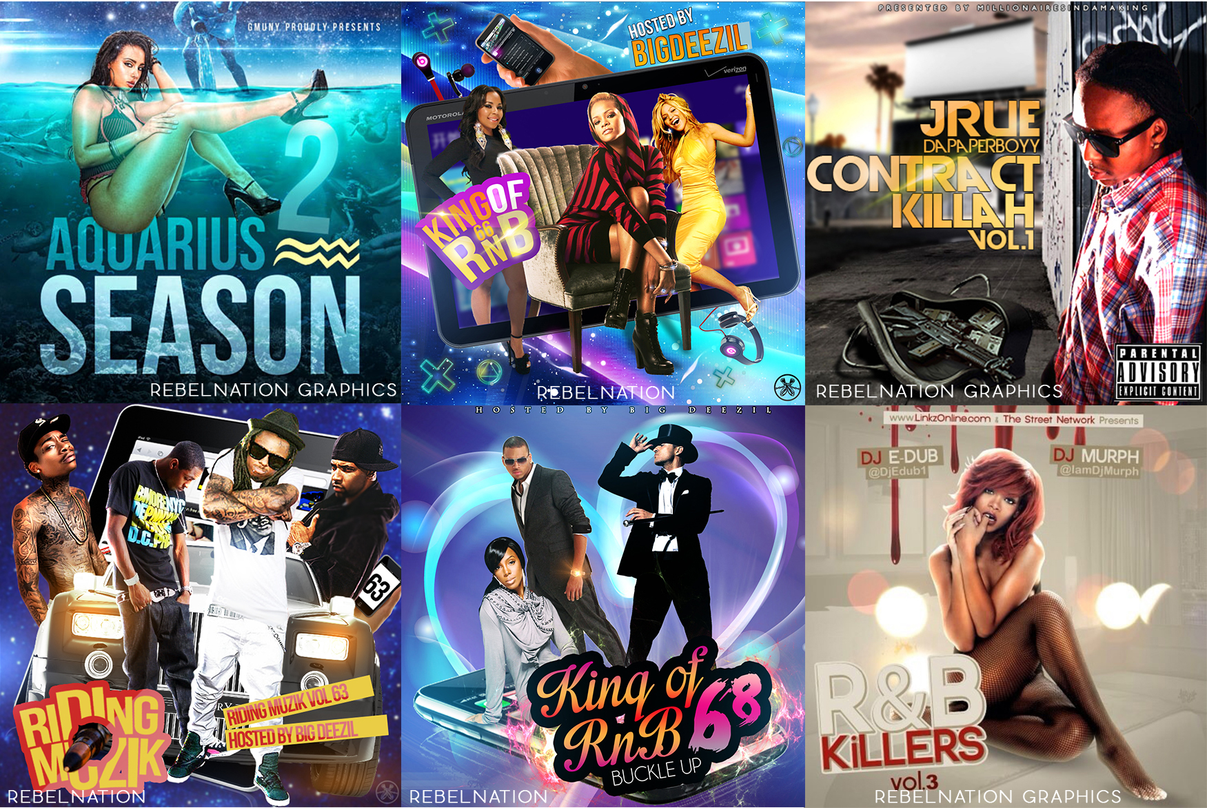 Designing Professional Mixtape Covers Ebook Flyers Business Cards Headers