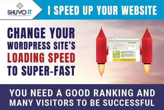 I speed-optimize your WordPress website to be loaded super-fast and drive it to the top in Google