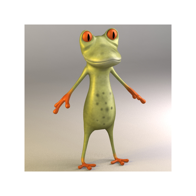 I Will Make 3d Cartoon Character And Rig It Ready For
