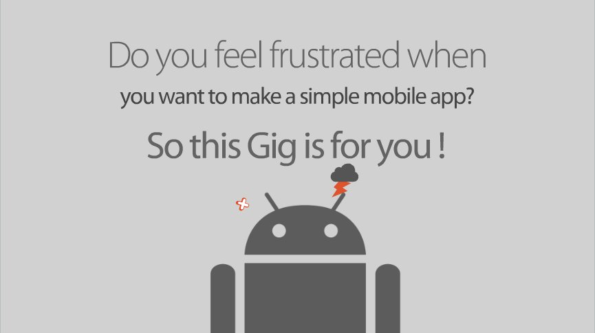 create an Android application based on your Powerpoint presentation