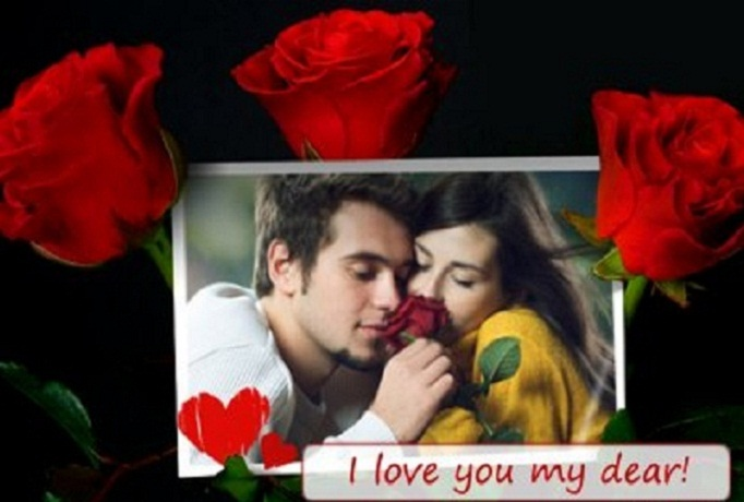 create you a special picture for Valentines day