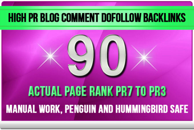 Make 90 High DA SEO Blog Commenting Backlinks For AduIt Website