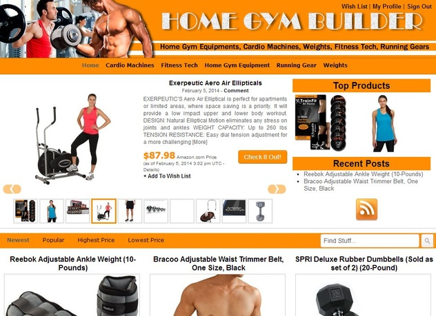build you the ULTIMATE amazon affiliate website