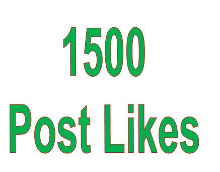 1500 Posst Promotion within 12 Hours 100 Parcent Guaranteed