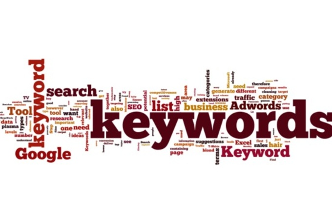 do keyword research for your niche or business