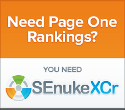 Boost your rankings with high quality SEO backlinks using SEnuke XCr for
