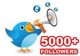 Add TWITTER follower 5000,  4000,  3000,  2000,  1000 or 5k,  4k,  3k,  2k,  1k without password