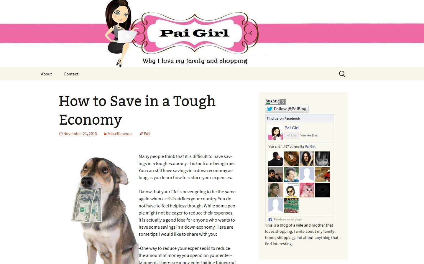 I will guest post your article to my PR3 DA31 SHOPPING blog