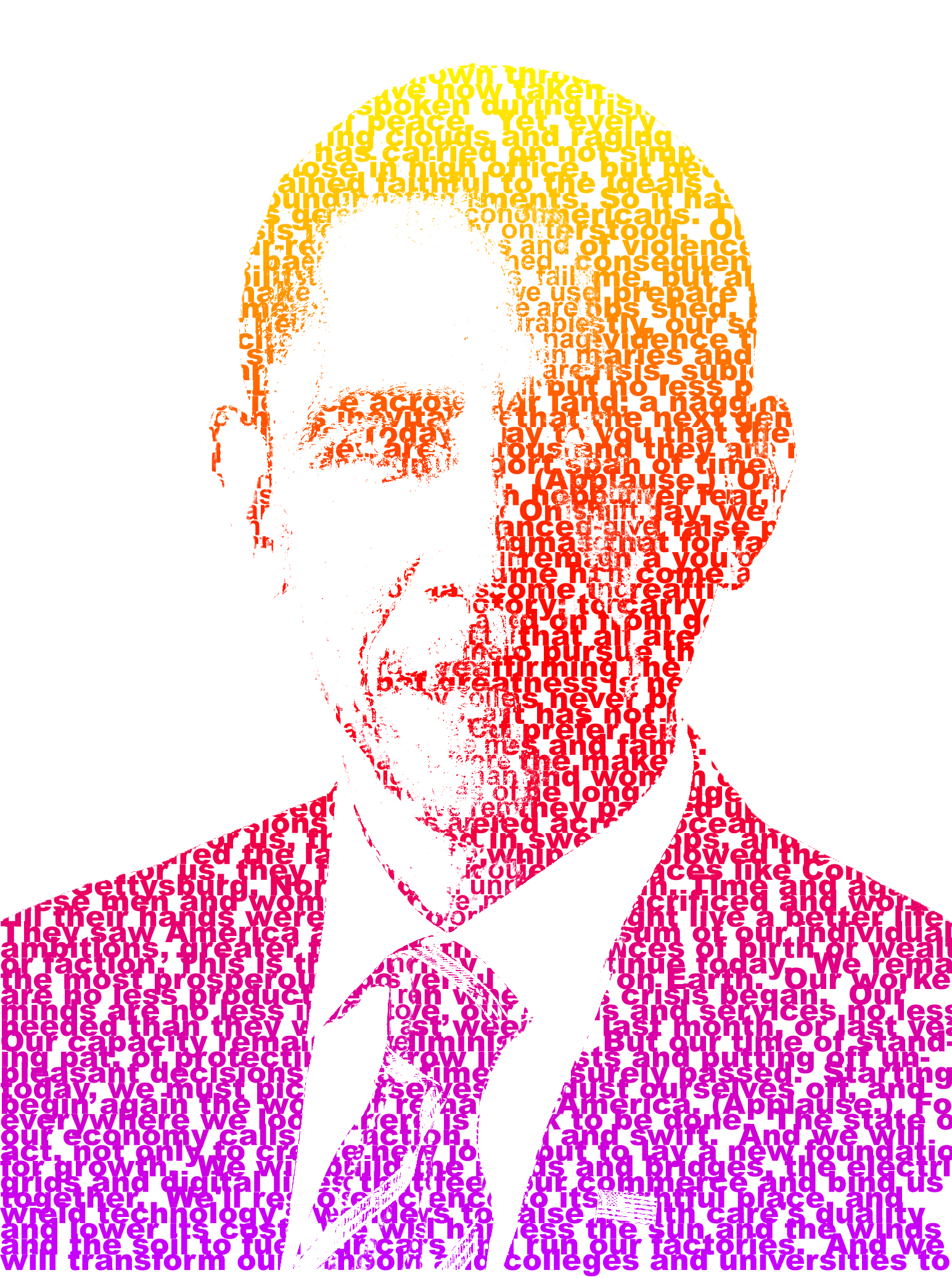 I will make your photo into Typography portrait for 5
