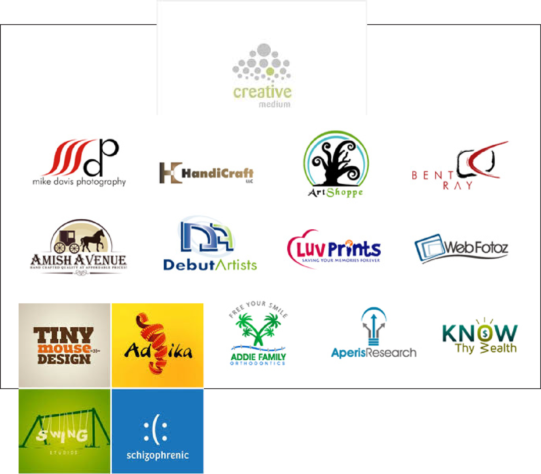 design Creative Eye Catching LOGO With 3 Unique Concepts For Your Busines for