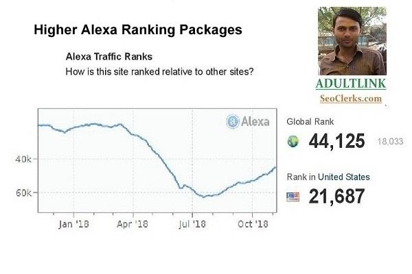I will improve your Global Alexa Ranking below 101k