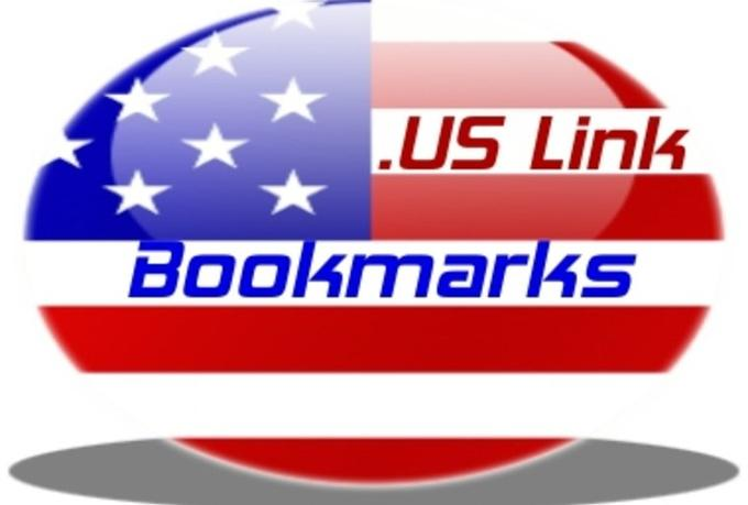 submit your site manually to 20 USA, american social bookmarking sites for  $12