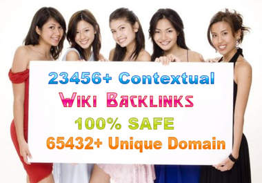 18000 backlinks from unique domains backlink of seo wiki sites give you best seos backlinking juice