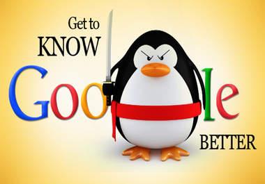 genuinely Build Google Panda, Penguin Safe, High pr...