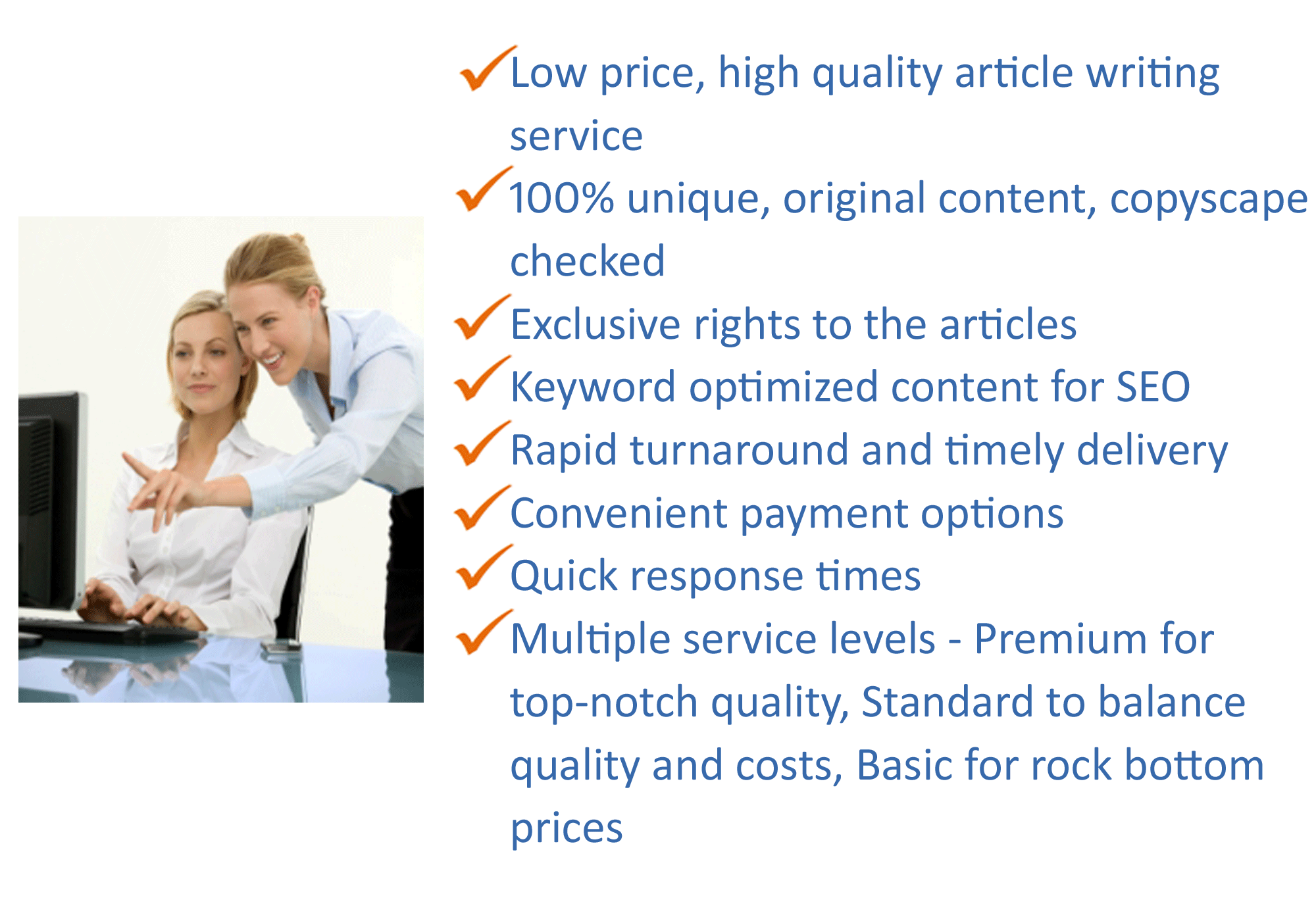 Cheap seo article writing service