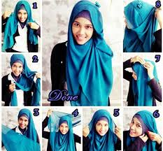 unique hijab from indonesia