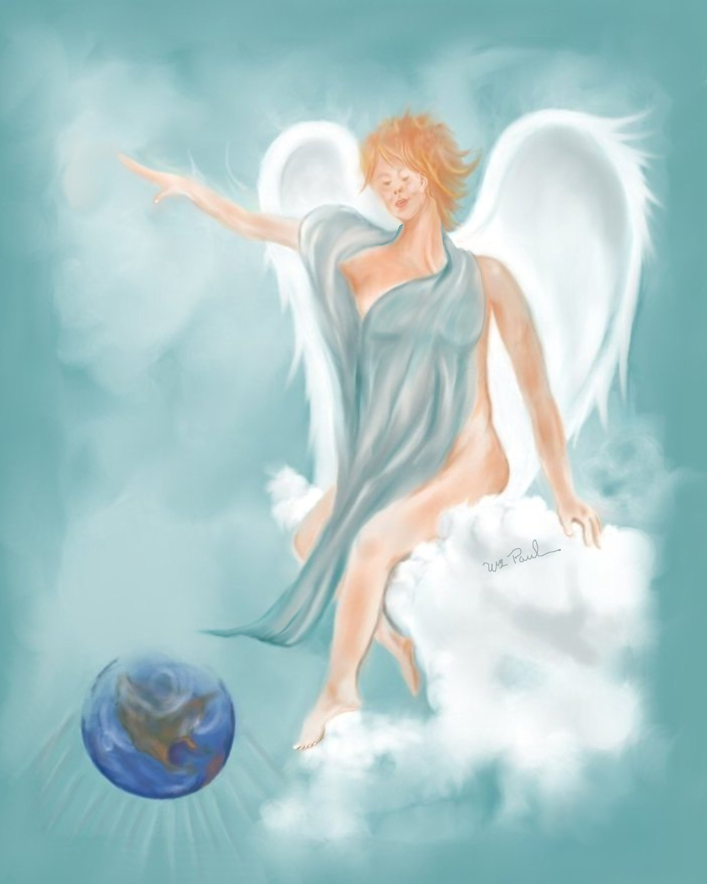 I will Paint you an ANGEL