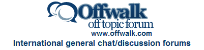 provide signature link in my account of Offwalk forums, having 9500+ posts